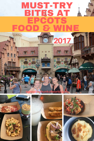 Must-Try Bites at Epcot's Food and Wine 2017 | A Great Big Hunk Of World