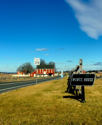 A Winter Weekend in Gettysburg Pennsylvania | Top Things to Do in Gettysburg | #AGBHOW | www.agreatbighunkofworld.com | Wentz House