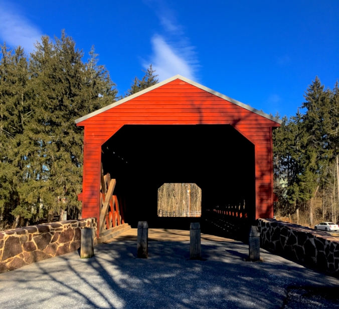 A Winter Weekend in Gettysburg Pennsylvania | Top Things to Do in Gettysburg | #AGBHOW | www.agreatbighunkofworld.com | Sachs Covered Bridge