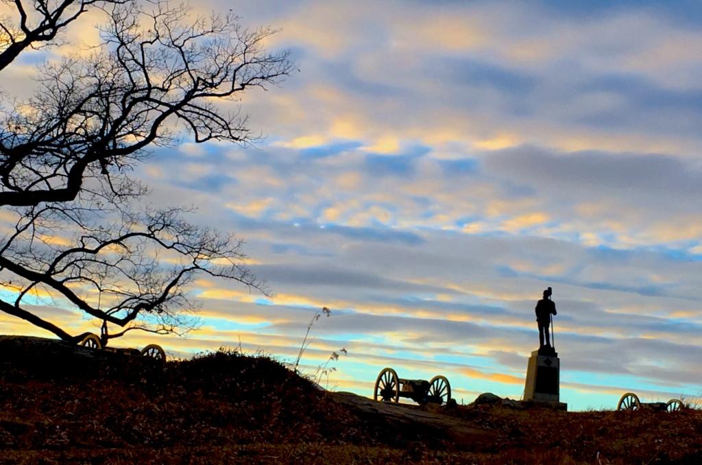 IMG_1397A Winter Weekend in Gettysburg Pennsylvania | Top Things to Do in Gettysburg | #AGBHOW | www.agreatbighunkofworld.com | Gettysburg National Military Park