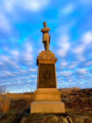 A Winter Weekend in Gettysburg Pennsylvania | Top Things to Do in Gettysburg | #AGBHOW | www.agreatbighunkofworld.com | Gettysburg National Military Park
