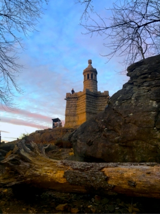 A Winter Weekend in Gettysburg Pennsylvania | Top Things to Do in Gettysburg | #AGBHOW | www.agreatbighunkofworld.com | Culp's Hill / Castle at Little Round Top