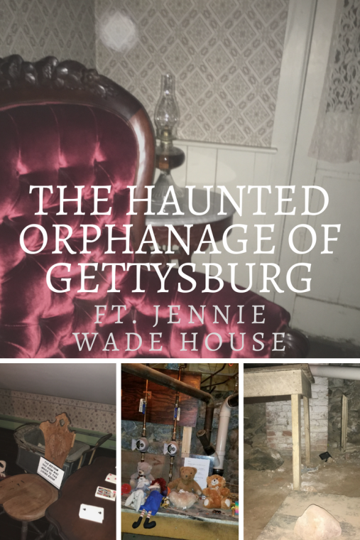 The Haunted Orphanage of Gettysburg | Jennie Wade House | #agbhow | A Great Big Hunk of World | www.agreatbighunkofworld.com | Top Things to Do in Gettysburg