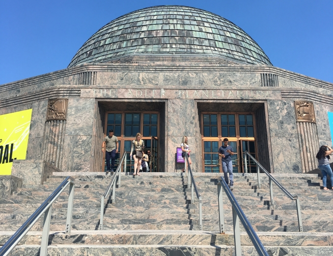 How to Experience Chicago in Two Days | Weekend Trips | US Travel | Chicago, Illinois | AGBHOW | www.agreatbighunkofworld.com | Adler Planetarium