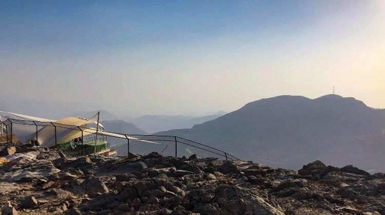 Crossing the Hajar Mountains | Jebel Jais Zip Line | World's Longest Zip Line | Ras al Khaimah, United Arab Emirates | A Great Big Hunk of World | www.agreatbighunkofworld.com
